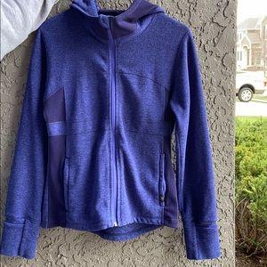 Prana Blue/ Purple Full Zip Jacket